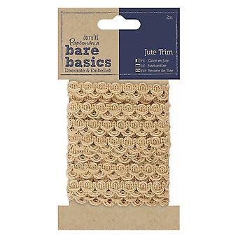Papermania Bare Basics yute Trim (2m) (PMA 174504)