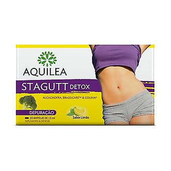 Aquilea Stagutt Detox 20 ampoules of 15ml