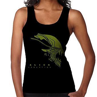 Alien eristäminen Xenomorph pää naiset ' s Vest