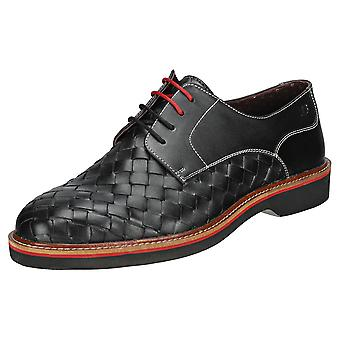 London Brogues Branson Mens Casual Shoes in Black