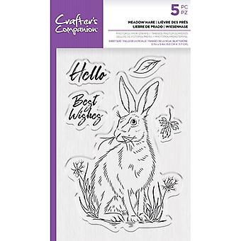 Crafter's Companion Clear Stamps - Meadow Hare