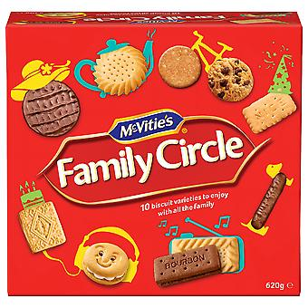McVities Family Circle Biscuit Assortment