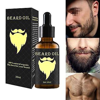 100% luonnollinen Kiihdytä kasvojen hiukset kasvaa parta - Eteerinen öljy hiukset ja parta