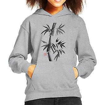 Subtle Bamboo Kid's Hooded Sweatshirt
