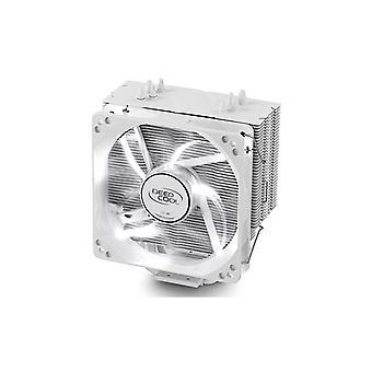 Deepcool Gammaxx 400 White Cpu Cooler 4 Heatpipes Fan