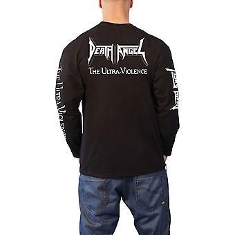 Death Angel Shirt The Ultra Violence Band Logo Official Mens Long Sleeve