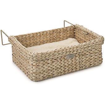 Designed By Lotte Waterhyacinth Wicker Radiator Bed - 45cm