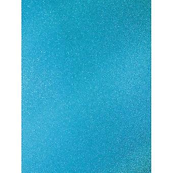 Turquoise A4 Coloured Glitter Card By Artoz