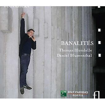 Blondelle, Thomas/Blumenthal - Banalit S [CD] USA import