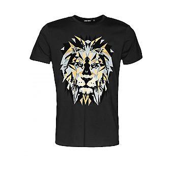Antony Morato T-shirt met Lion Print Zwart