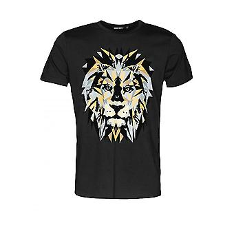 Antony Morato T-paita leijona painatus musta