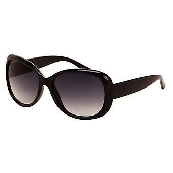 Sonnenbrille Damen    schwarz mit grauer Linse (290 P)