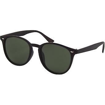 Okulary przeciwsłoneczne Unisex Ikony Kat. 3 czarny/zielony (B052)