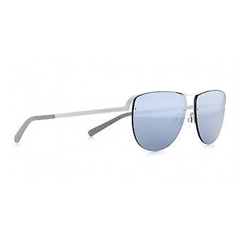 Sunglasses Unisex Sunset pilot silver/blue