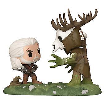 The Witcher 3 Wild Hunt Geralt vs Leshen US Ex. Pop! Moment