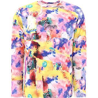 Comme Des Garçons Shirt W28104 Men's Multicolor Katoenen Trui