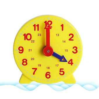 Educational Alarm Clock Kids Toys 12 24 Hours Time Learning Clock Education Montessori Materials Game Gifts Toy