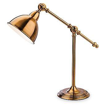 Firstlight Hampton - 1 Lampe de table légère Antique Gold, E14