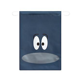 Bolso con cordón de viaje del cordón del bolsillo para el viaje azul oscuro