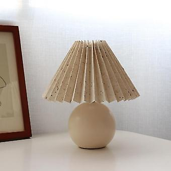 Vintage Rattan Led Table Lamp For Bedroom Or Living Room