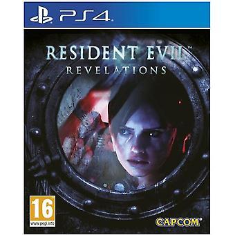 Resident Evil Revelations HD PS4 Game