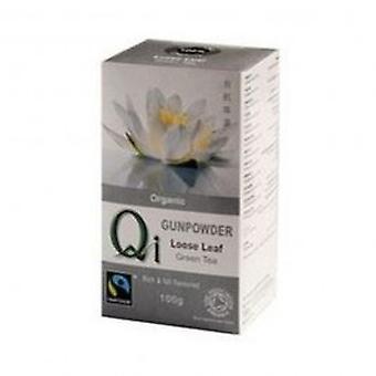 Qi - Organic Fairtrade Loose Leaf Gunpowder Tea