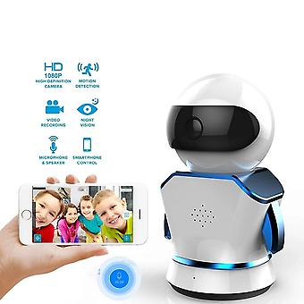 Robot til home security, Ip Kamera Wi-fi Cctv Baby Monitor Wireless Mini