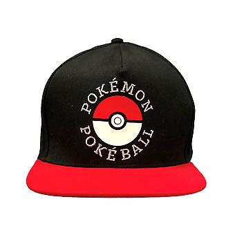 Pokemon Trainer Snapback Cap