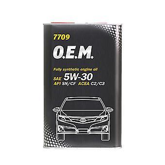 Mannol 5W-30 Fully Synthetic Engine Oil 1L 5W30 API SN/CF A5/B5