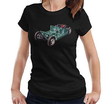 Austin Healey Sprite Mark II Britische samt motor Heritage Frauen's T-Shirt