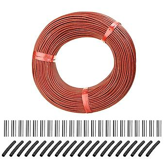 100m Infrare Carbon Fiber Heating Cable/wire Warming Floor Home Improvement Greenhouse Vegetables Farm Heating