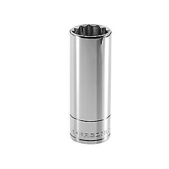 Facom Bi-Hexagon Deep Socket 1/2in Drive 24mm FCMS24LA