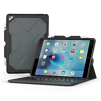 ZAGG Rugged Messenger Folio Case for 10.5-Inch iPad Pro - Back-lit QWERTY Layout