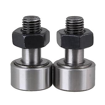 KR22 Cam Follower Needle Roller Bearing Stud Type Bearings 22mm Dia Pack of 2