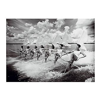 Esquí acuático desfile Poster Print de la colección de Chelsea (32 x 24)