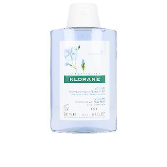 Kloran Volym Schampo med lin Fiber 200 ml Unisex