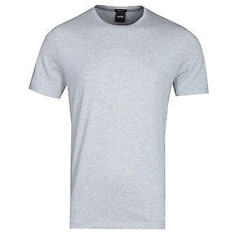 BOSS Tburd Crew Cuello Gris Marl Camiseta