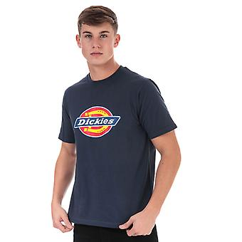 Men's Dickies Horseshoe T-Shirt in Blue