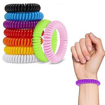 Braccialetto repellente per insetti anti mosquito bug braccialetto braccialetto - Assorted,2pk
