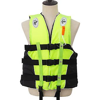 Adult Life Vest With Whistle Swimming Boating Ski Life Water Sports Man Kids