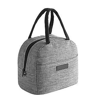 Women / Men Cationic Fabric Waterproof Portable Lunch Box Bags