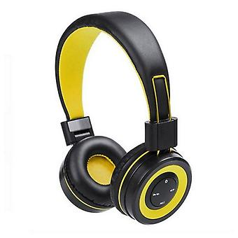 Bluetooth Wireless Headphones with Integrated Panel