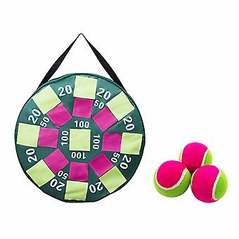 Inflatable Velcro 50cm Target With 3 Velcro Tennis Balls Set