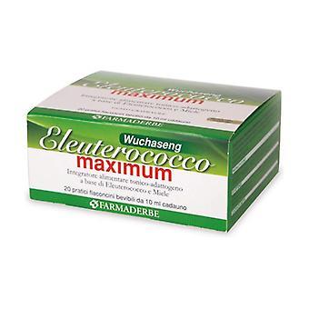 ELEUTEROCOCCO MAXIMUM 20FL 20 vials of 10ml