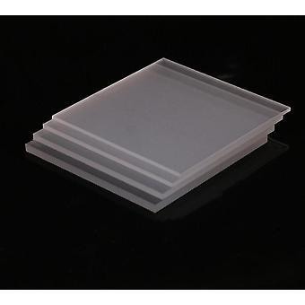 Korkealaatuinen muovi, läpinäkyvä akryyli perspex-arkki / levy / paneeli