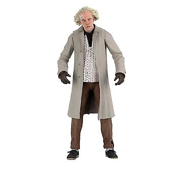 """Back to the Future Doc Brown Ultimate 7"""" Action Figure"""