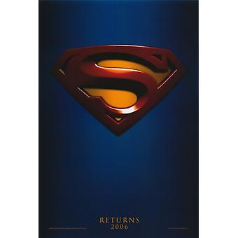 Affiche du film Superman Returns (11 x 17)