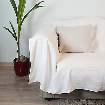 Stylish Natural Linen Slipcover