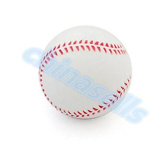 1pcs 9inch White Safety Kid Baseball Base Ball Practice Trainning Pu Chlid