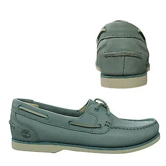 Timberland Earthkeepers Classic Womens Boat Shoes Deck Leather Blue A1AR7 Z39B